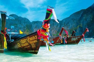 Orient w tajskich łodziach