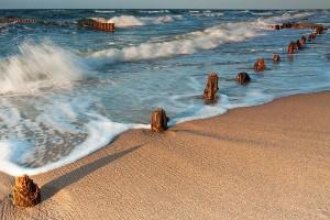 Wczasy dla Singli nad morzem - plaża w Darłówku