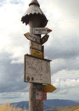 Letni wypoczynek dla Singli w górach - na szlaku w Bieszczadach