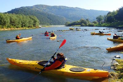 Weekend Czerwcowy dla Singli w Bieszczadach - Wodami rzeki San