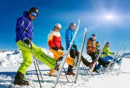 Wczasy z nartami w Sudetach - Czarna Góra