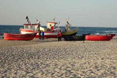 Wakacje dla Singli nad morzem - plaża w Dąbkach