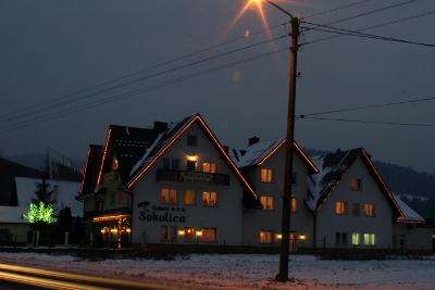 Zimowe Wczasy dla Singli w Krościenku nad Dunajcem - Hotel Zajazd Sokolica