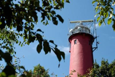 Majówka dla Singli nad morzem - widok z latarni morskiej w Niechorzu