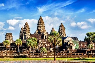 Pradawne azjatyckie świątynia